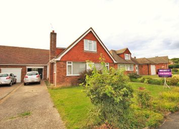 Thumbnail 3 bed bungalow for sale in The Gorseway, Bexhill-On-Sea
