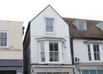 Thumbnail 2 bedroom flat to rent in High Street, Whitstable