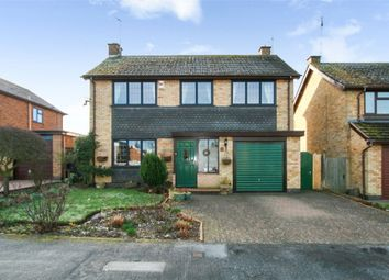 Thumbnail 4 bed detached house for sale in The Chase, Great Glen, Leicester