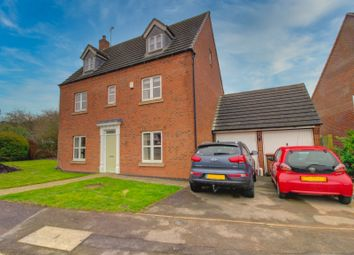 Thumbnail 5 bed detached house for sale in Beacon View, Bagworth, Coalville