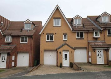 Thumbnail 3 bed town house for sale in Faircross Avenue, Weymouth