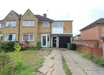 Thumbnail 4 bedroom semi-detached house to rent in Silverton Road, Oadby, Leicester