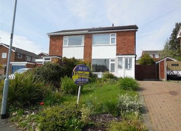 Thumbnail 2 bed semi-detached house to rent in Clifton Way, Hinckley