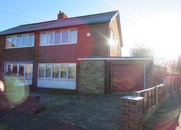 Thumbnail 3 bedroom semi-detached house to rent in Kinnaird Close, Batley
