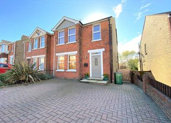 Thumbnail 4 bed semi-detached house for sale in Joyes Road, Folkestone