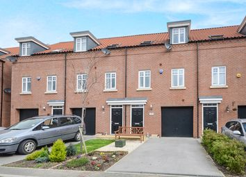 Thumbnail 3 bed terraced house for sale in Fossview Close, Strensall, York