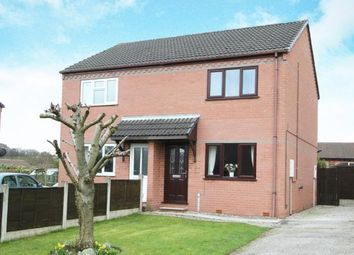 Thumbnail 2 bed semi-detached house for sale in Tansley Road, North Wingfield, Chesterfield, Derbyshire