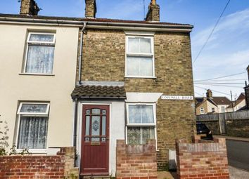 Thumbnail 2 bed terraced house for sale in Lovewell Road, Lowestoft