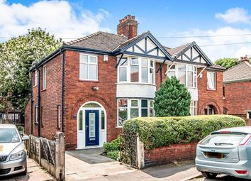 Thumbnail 3 bed semi-detached house for sale in St. Hildas Road, Northenden, Manchester