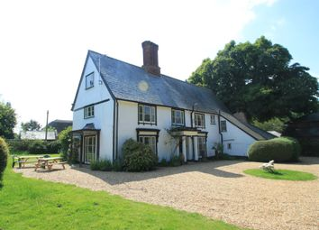 Thumbnail 6 bed farmhouse for sale in Nowton, Bury St Edmunds, Suffolk
