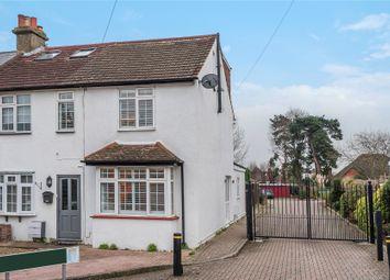 Thumbnail 3 bedroom end terrace house for sale in Wellbrook Road, Locksbottom, Orpington