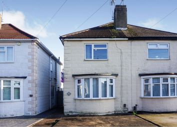 Thumbnail 2 bed semi-detached house for sale in Lang Road, Alvaston