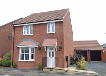Thumbnail 4 bedroom detached house for sale in Rakegate Close, Wolverhampton