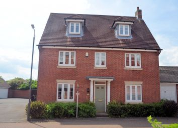 Thumbnail 5 bed detached house for sale in Anglia Drive, Church Gresley