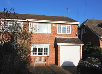 Thumbnail 1 bed semi-detached house to rent in Marys Avenue, Purley On Thames