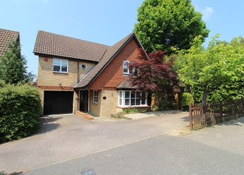 Thumbnail 4 bed detached house for sale in Harper Drive, Maidenbower, Crawley, West Sussex.