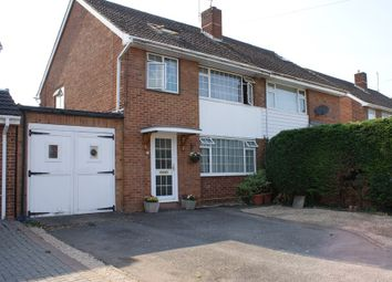 Thumbnail 4 bed semi-detached house for sale in Shrubland Drive, Reading, Berkshire