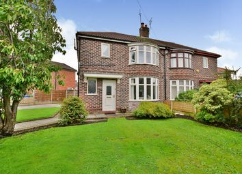 Thumbnail 3 bed semi-detached house for sale in Greylands Road, Manchester, Greater Manchester