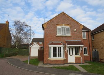 Thumbnail 4 bed detached house for sale in Battalion Drive, Wootton, Northampton