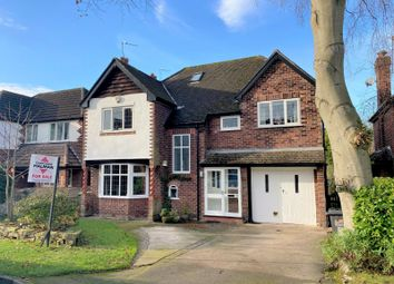 Thumbnail 5 bed detached house for sale in Woodlands Road, Handforth, Wilmslow