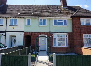 Thumbnail 3 bed terraced house for sale in New Fields Square, Leicester