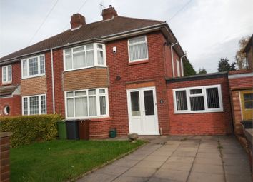 Thumbnail 3 bed semi-detached house to rent in Lawnswood Rise, Aldersley, Wolverhampton