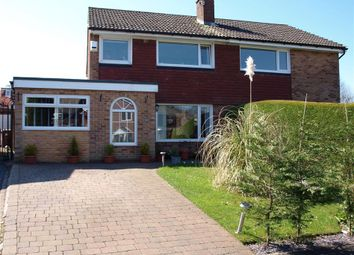 Thumbnail 3 bedroom semi-detached house for sale in Gleneagles Road, Alwoodley, Leeds