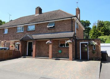 Thumbnail 3 bed semi-detached house for sale in Spring Rise, Englefield Green, Egham