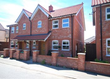 Thumbnail 3 bed semi-detached house for sale in Station Road, Sutterton, Boston