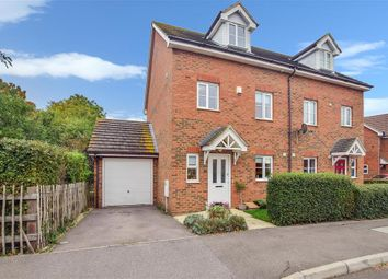 Thumbnail 4 bed semi-detached house for sale in Shelduck Close, Allhallows, Rochester, Kent
