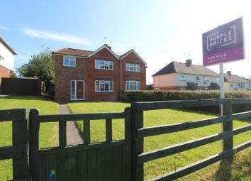 Thumbnail 3 bed semi-detached house for sale in Church End Road, Milton Keynes