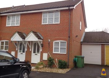 Thumbnail 2 bed end terrace house to rent in Timor Close, Whiteley, Fareham