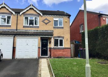 Thumbnail 3 bed semi-detached house for sale in Delamere Close, Newdale