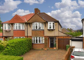 Thumbnail 3 bed semi-detached house for sale in Ewell Park Way, Epsom, Surrey
