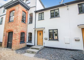 Thumbnail 3 bed terraced house for sale in Church Road, Yelverton, Norwich