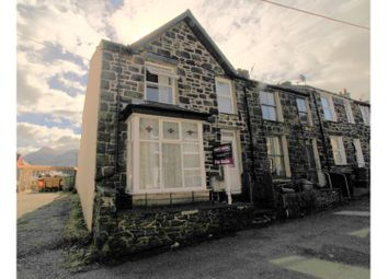 Thumbnail 3 bed end terrace house for sale in Well Street, Llanberis