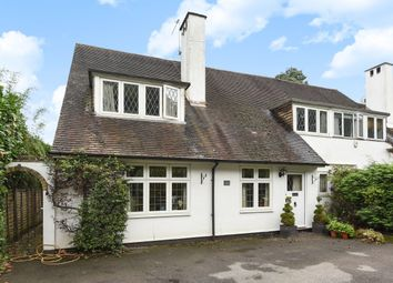 Thumbnail 4 bed semi-detached house to rent in East Road, St. Georges Hill, Weybridge