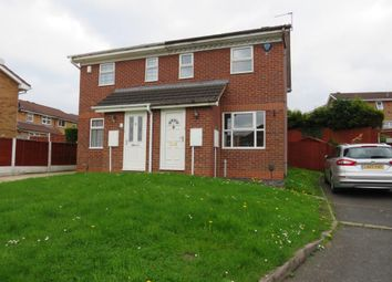 Thumbnail 2 bedroom semi-detached house for sale in Somerford Way, Coseley, Bilston