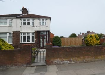 Thumbnail 3 bed semi-detached house for sale in Walton Hall Avenue, Walton, Liverpool