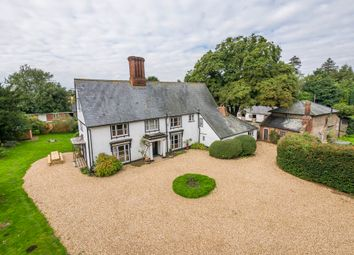 Thumbnail 6 bedroom farmhouse for sale in Nowton, Bury St Edmunds, Suffolk