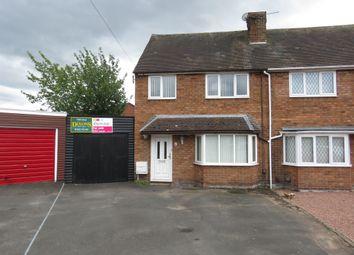 Thumbnail 3 bed semi-detached house for sale in Rosemary Road, Hurcott, Kidderminster
