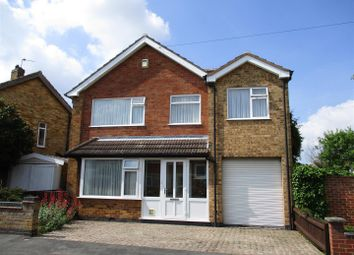 Thumbnail 4 bed detached house for sale in Waverley Road, Blaby, Leicester