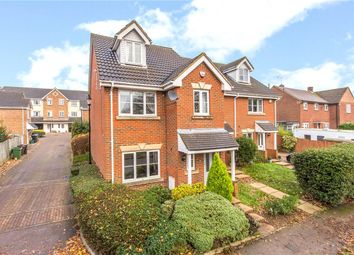 Thumbnail 4 bed semi-detached house to rent in Holyrood Crescent, St. Albans, Hertfordshire