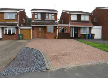 Thumbnail 4 bed detached house for sale in Littleworth Road, Hednesford, Cannock