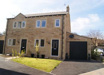 Thumbnail 3 bed semi-detached house for sale in Holden View, Oakworth, West Yorkshire