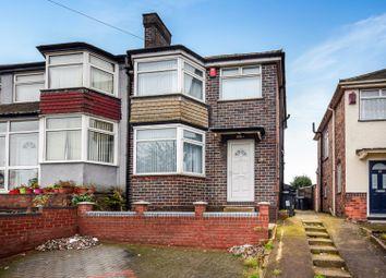Thumbnail 3 bed semi-detached house for sale in Fairholme Road, Birmingham