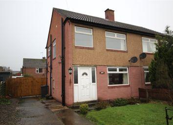 Thumbnail 2 bed semi-detached house for sale in 49 Eden Park Crescent, Carlisle, Cumbria