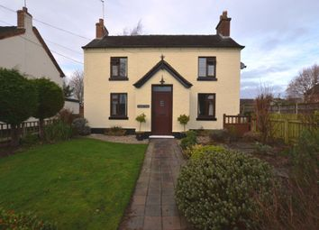 Thumbnail 3 bed detached house for sale in Longford Turning, Market Drayton