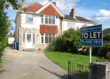 Thumbnail 3 bed detached house to rent in Wimborne Road, Poole