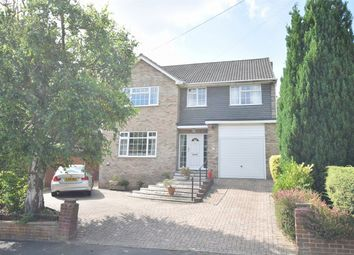 Thumbnail 4 bed detached house for sale in Iberian Way, Camberley, Surrey